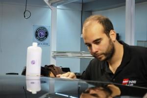 Tivemos oportunidade de participar do treinamento Nanolex que ocorreu durante o evento.